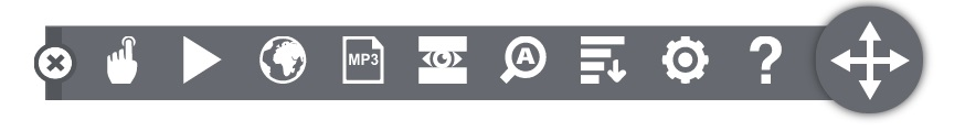 Image of Browse Aloud Toolbar