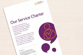 Our Service Charter