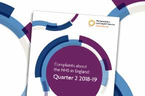 Complaints about the NHS in England: Quarter 2 2018-19
