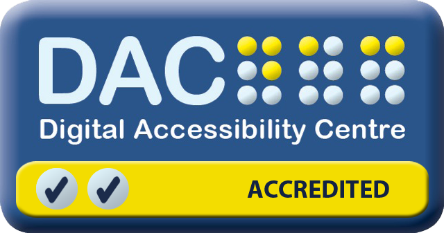 Digital Accessibility Centre Accredited